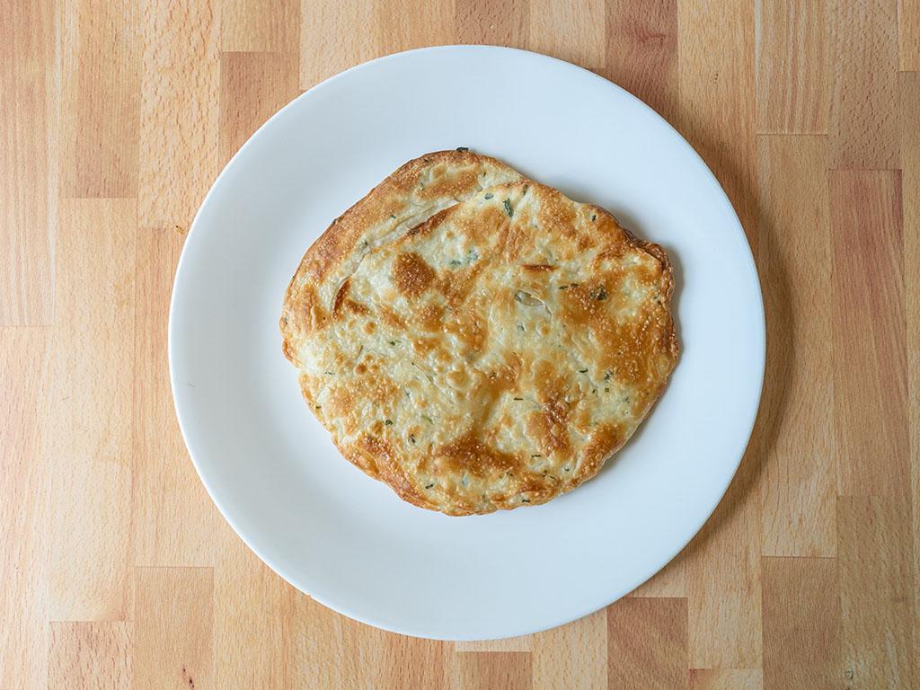Air fried Trader Joe's Taiwanese Green Onion Pancakes