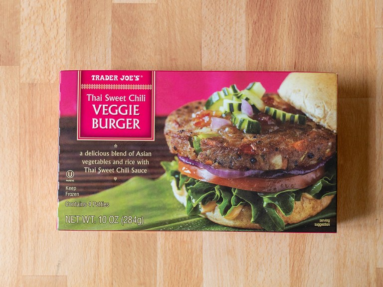How to cook Trader Joe's Thai Sweet Chili Veggie Burger in an air fryer