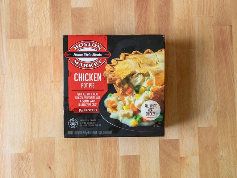 How to cook Boston Market Chicken Pot Pie in an air fryer