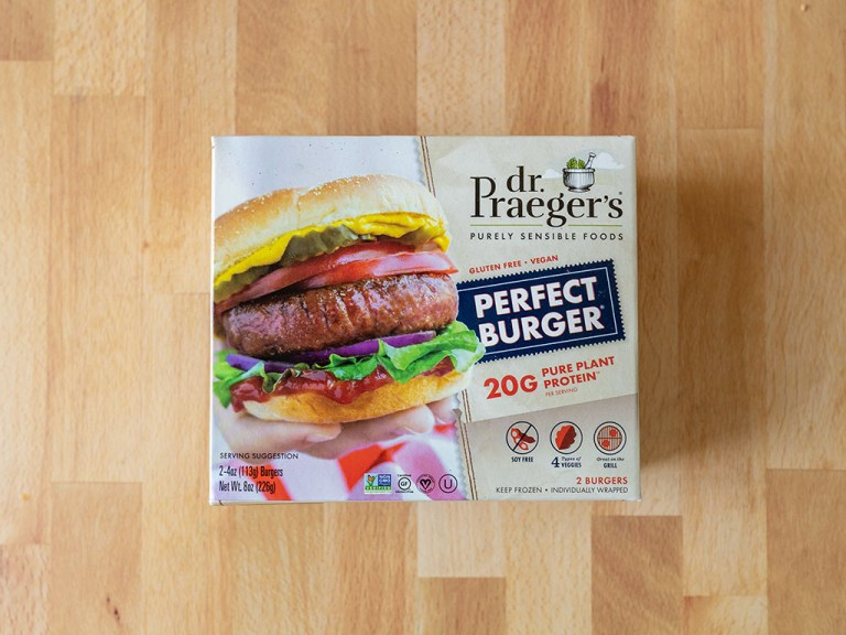 How to air fry Dr Praeger's Perfect Burger