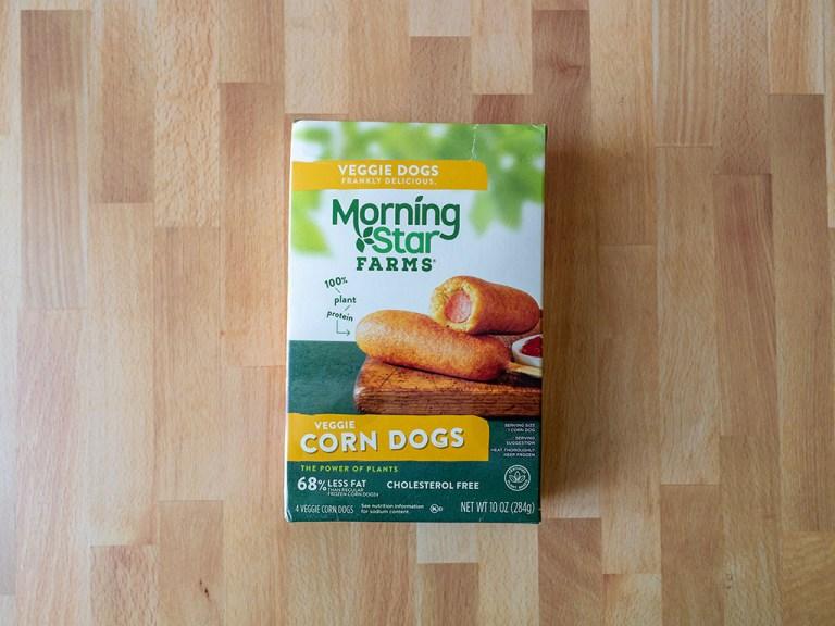 How to air fry MorningStar Farms Veggie Corn Dogs