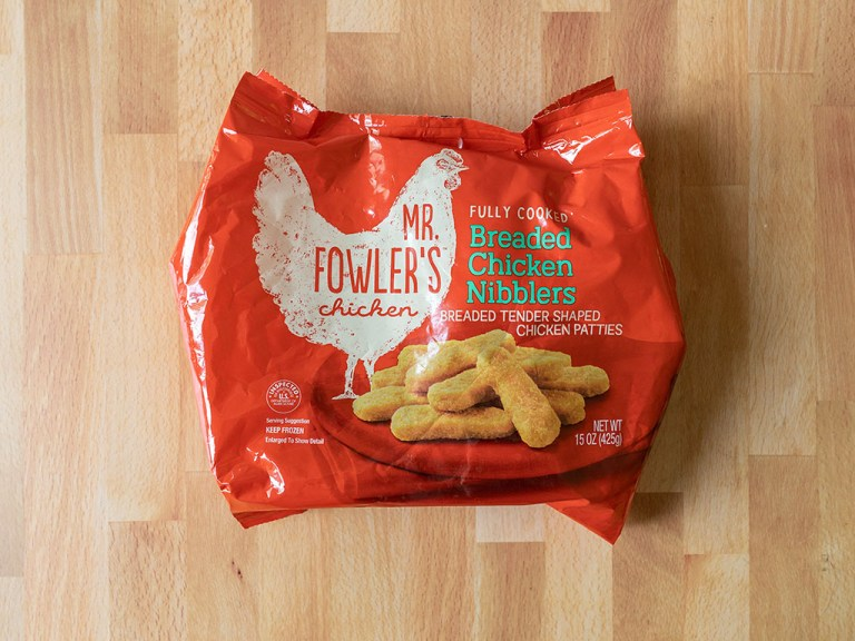 How to air fry Mr Fowler's Breaded Chicken Nibblers