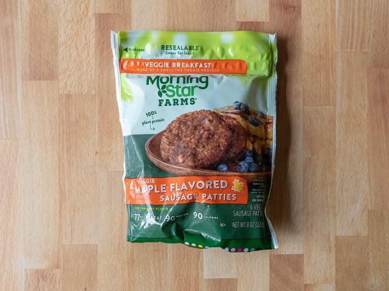 How to air fry MorningStar Farms Veggie Sausage Patties