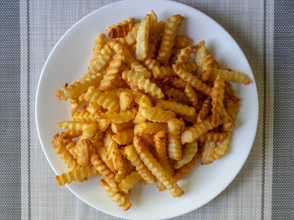 Ore Ida air fried crinkle cut fries