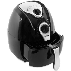 Della Electric Air Fryer with Temperature Control & Detachable Basket Handle Review