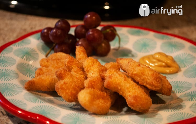 frozen chicken nuggets in
