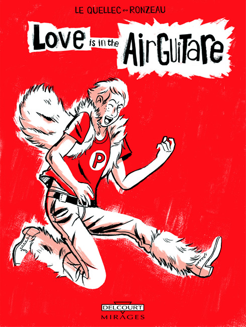 Love is in the Air Guitare BD