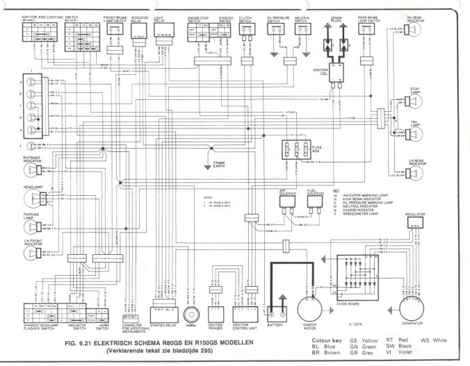 bmw airhead diode board wire diagram