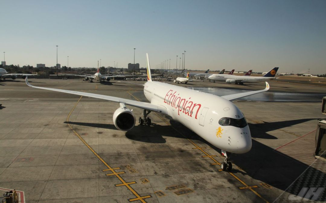 Ethiopian Airlines begins Operations With Fully Vaccinated Crew
