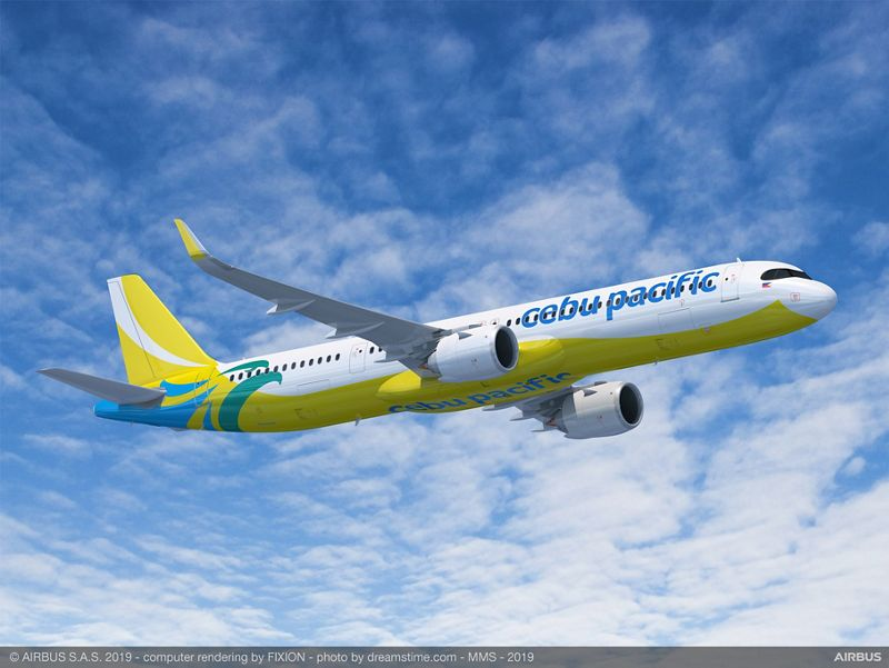 Cebu Pacific Orders 31 Aircraft from Airbus