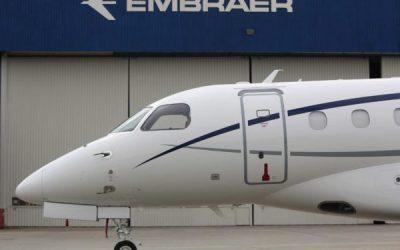 Embraer Delivers First Praetor 600 Business Jet
