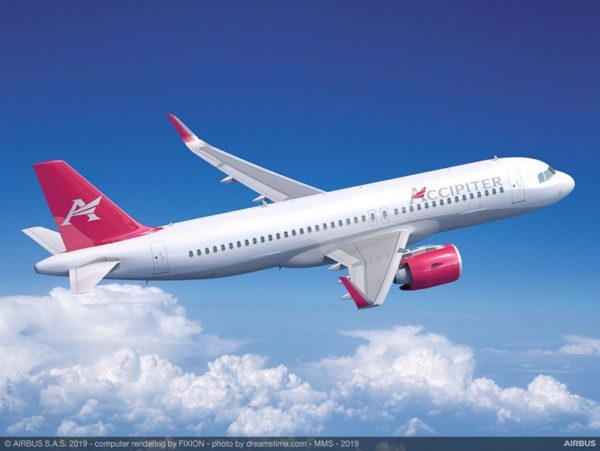 Accipiter Holdings Announced as Customer for 20 A320neo Aircraft