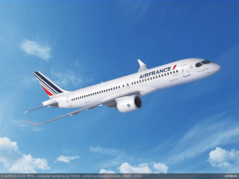 Air France-KLM commits to 60 A220
