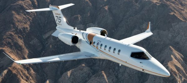Bombardier launches Learjet 75 Liberty