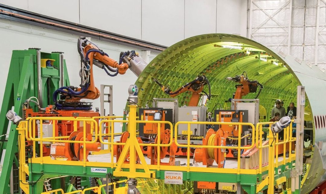 Boeing Dumps Fuselage Automation on 777X – Back to Manual Assembly