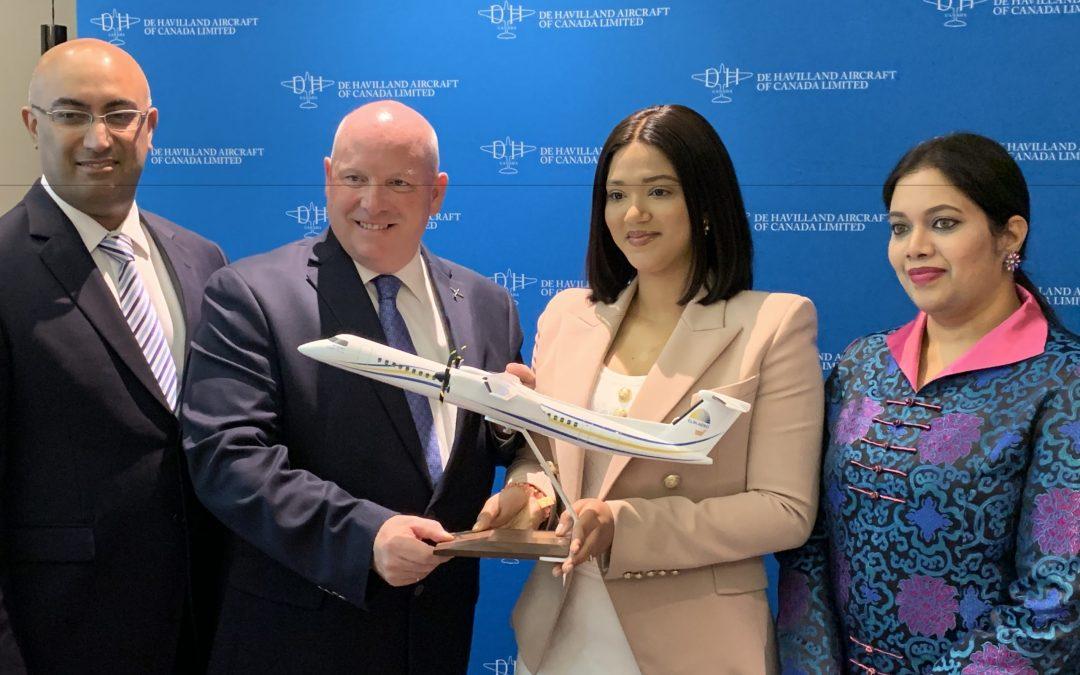 De Havilland Canada lands Dubai's first deals