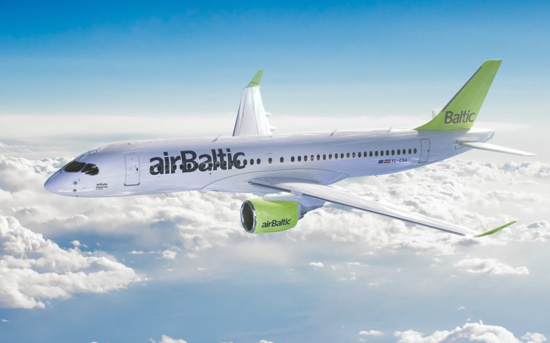 airBaltic CEO Martin Gauss really likes the A220
