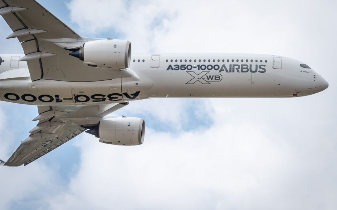 A350-1000 goes up to 480 seats