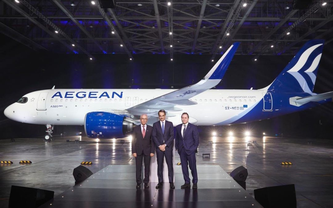 First Neo heralds new era for Aegean Airlines