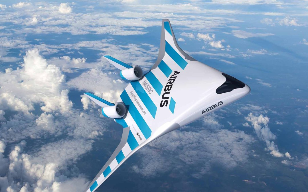Airbus reveals blended wing airliner