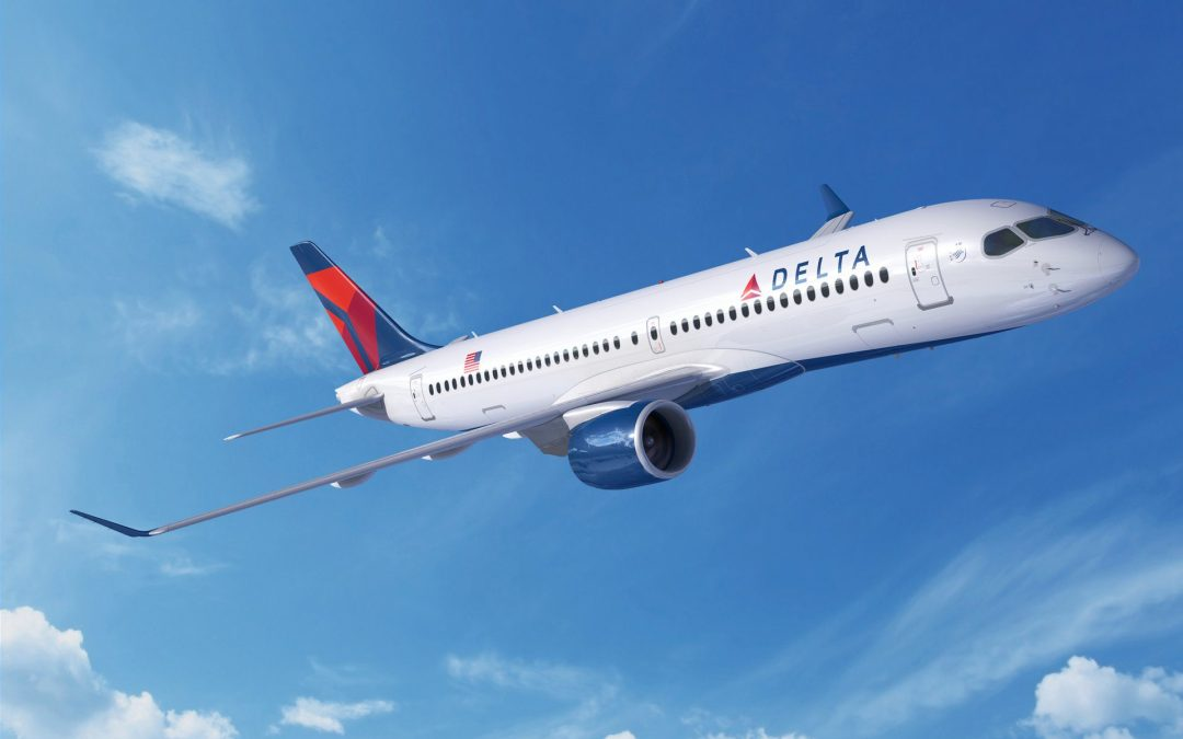 Airbus America's first A220-300 breaks cover