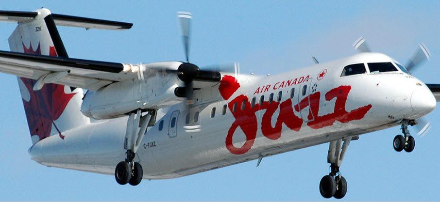 De Havilland Canada offers quick cargo configuration Dash8; Jazz first customer