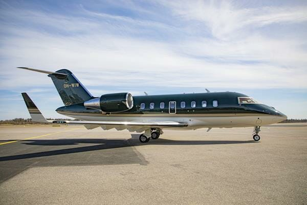 Bombardier Challenger 650 amasses 100 flight hours in 14 days
