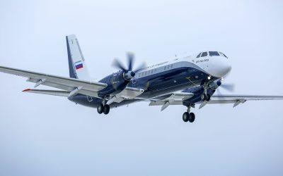 Ilyushin's updated turboprop is airborne