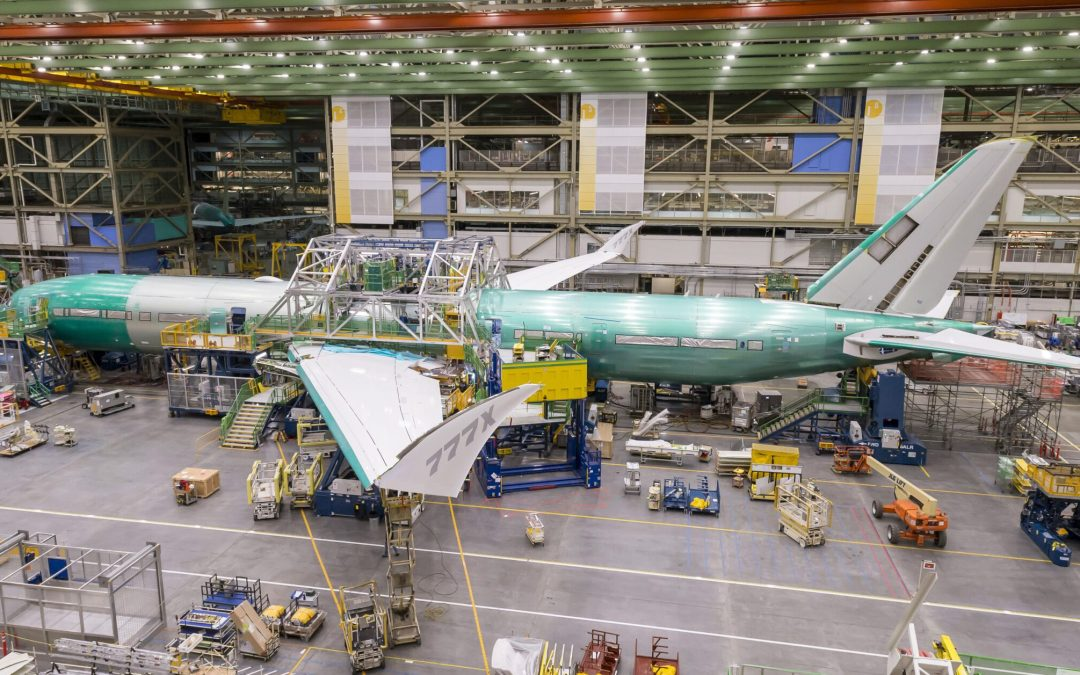 Redesign 777X seems to focus on wing tip mechanism