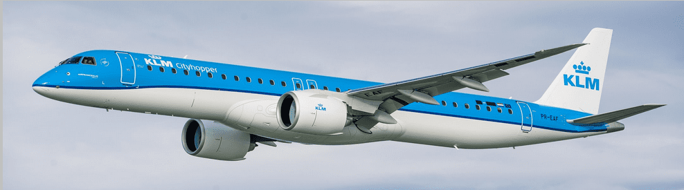 KLM Takes Delivery of Their First Embraer E2