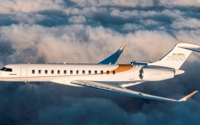 Bombardier Announced the  Delivery of the 50th Global 7500