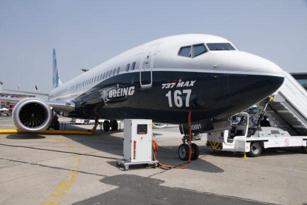 Boeing 737 MAX 9 prototype