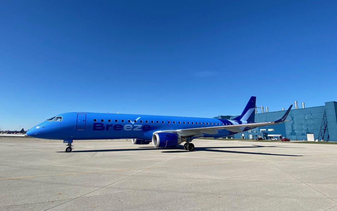 Breeze Airways Announces 16 City Debut