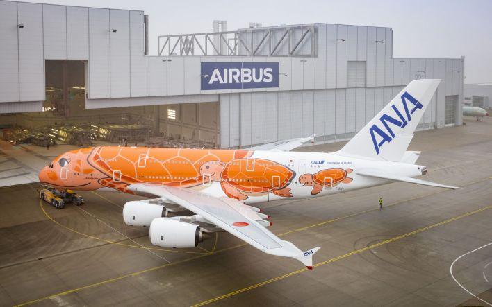 Airbus A380 Ka La ANA
