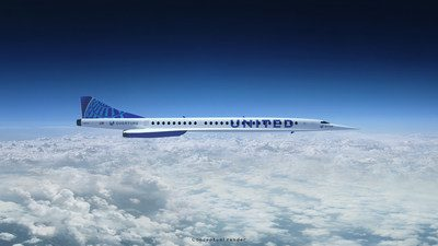 United goes supersonic with Boom order