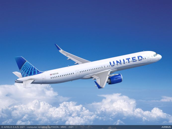 Airbus A321neo United Airlines