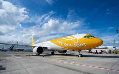 Scoot becomes latest Airbus A321 operator