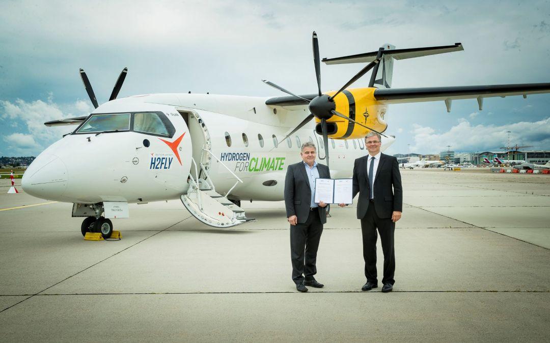 Deutsche Aircraft builds a hydrogen-electric test bed