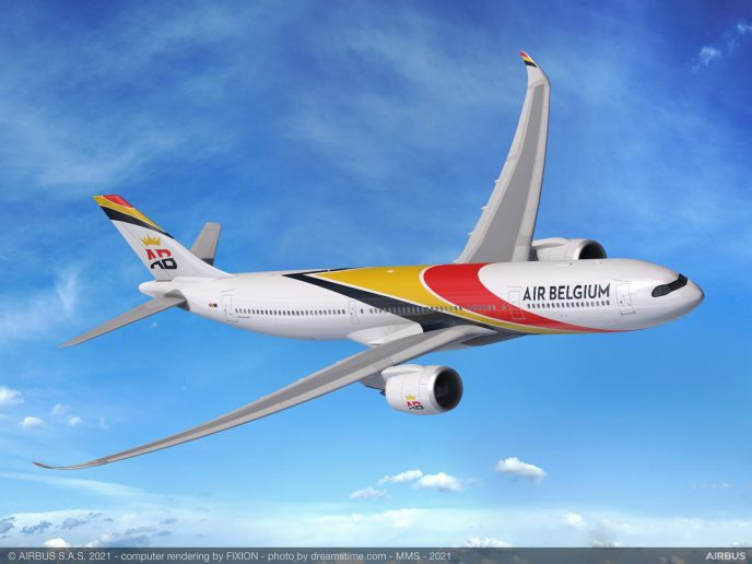Airbus A330-900 Air Belgium
