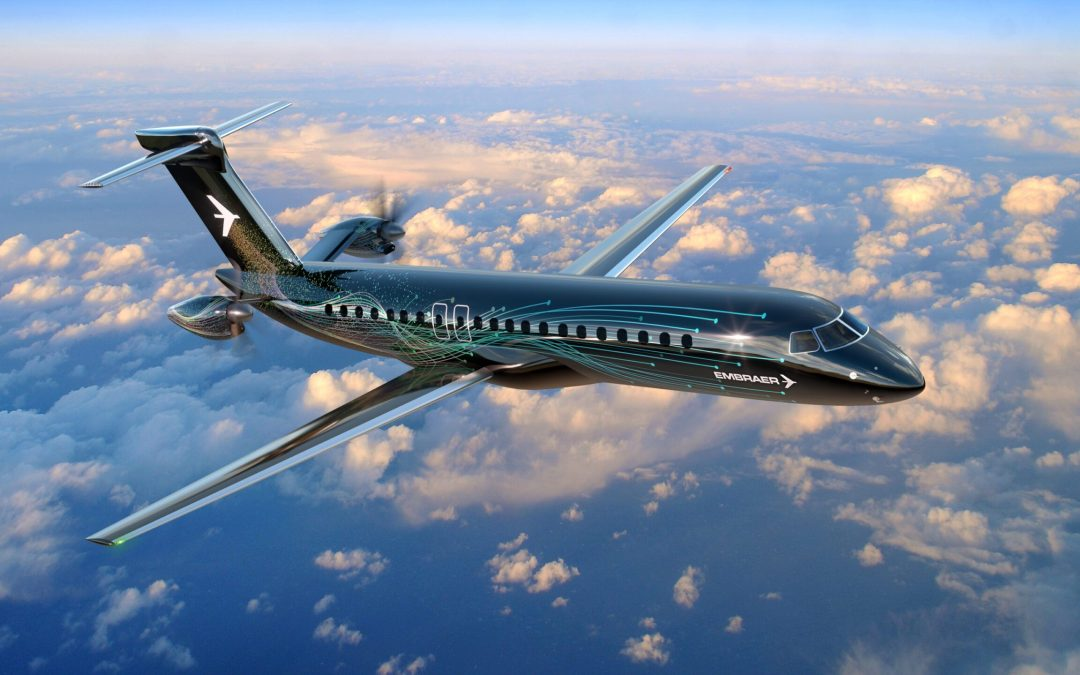 Embraer's turboprop concept gets rear-mounted engines