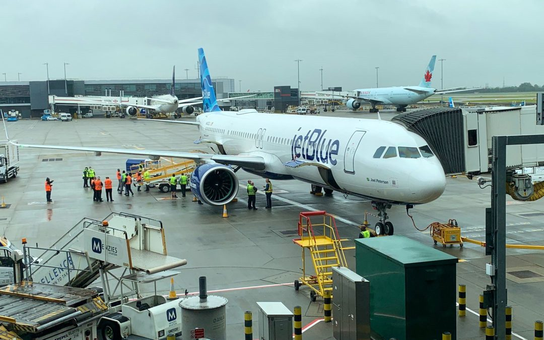 JetBlue starts new chapter with London arrival