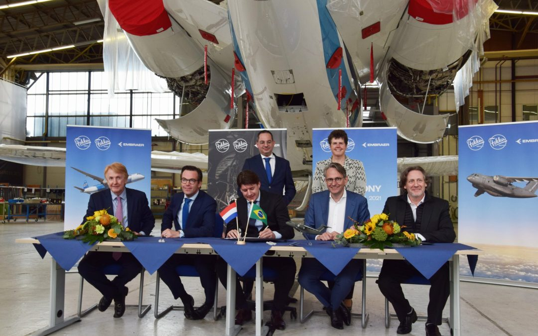 Embraer and Fokker explore closer ties