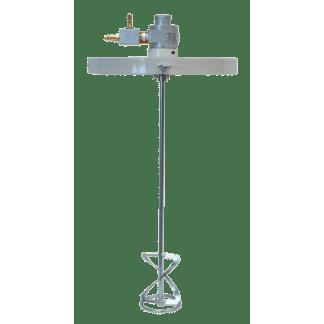 Мешалка пневматическая промышленная E701 750 с крышкой для ведра на 25 л