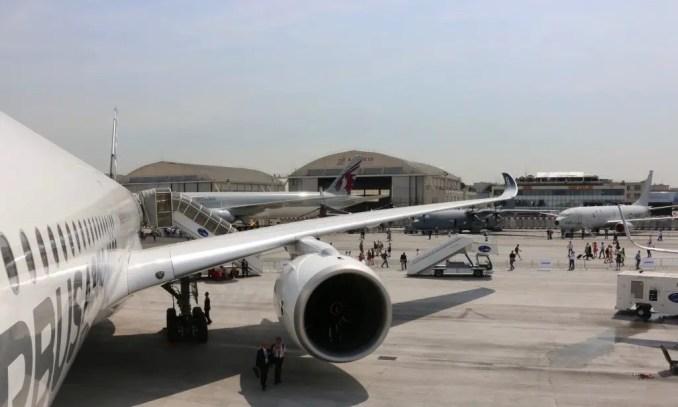 Airbus Paris Air Show a350