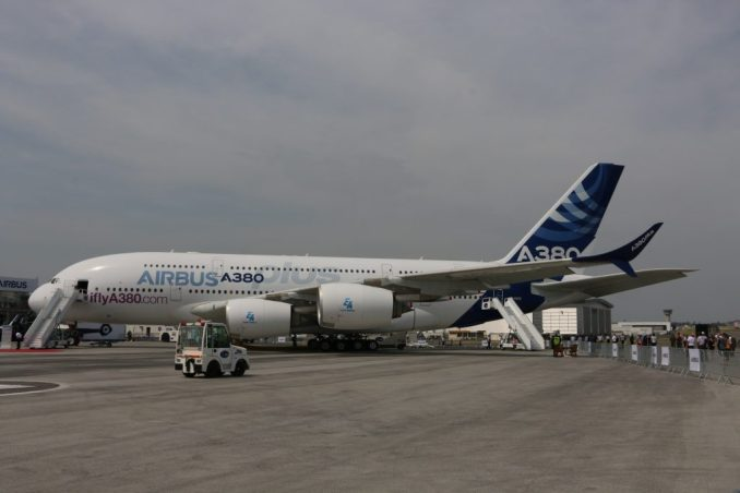 Airbus Paris Air Show a380