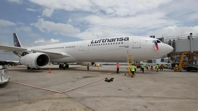 lufthansa begins flights to