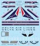 VFD72-235 Delta DC-9 Decal