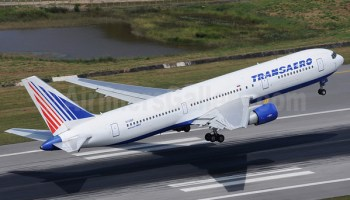Ex-Transaero Airlines abandoned Boeing 767-300 up for sale