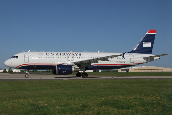 Us Airways Flight 1702 With Airbus A320 N113uw Blows A