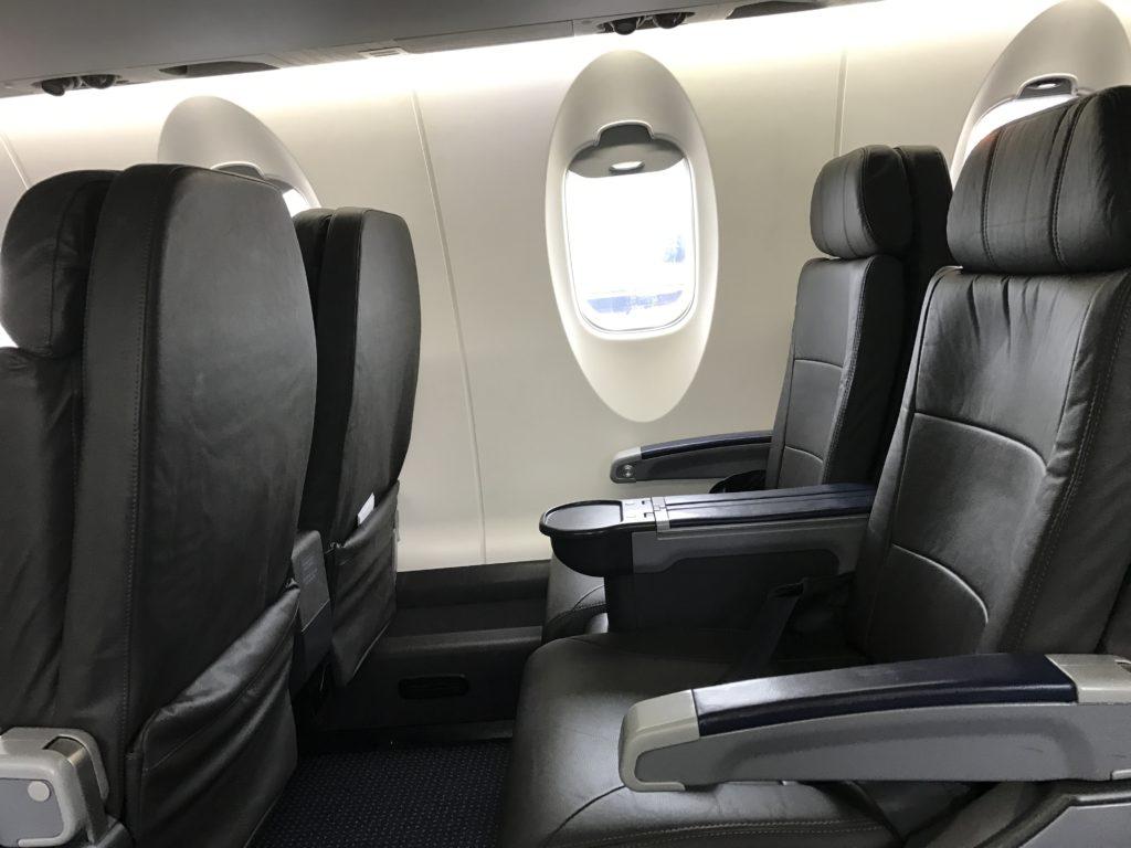 American Eagle Airlines Dallas to Santa Barbara CRJ900